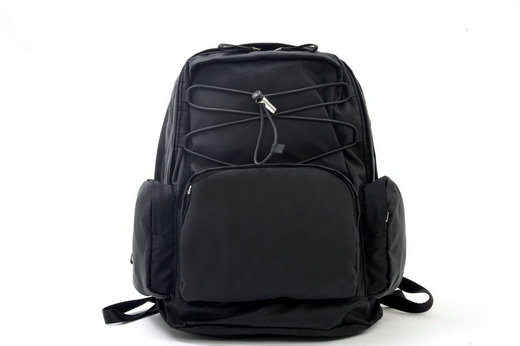 2015 Prada Black Nylon Backpack VZ0057 for Men