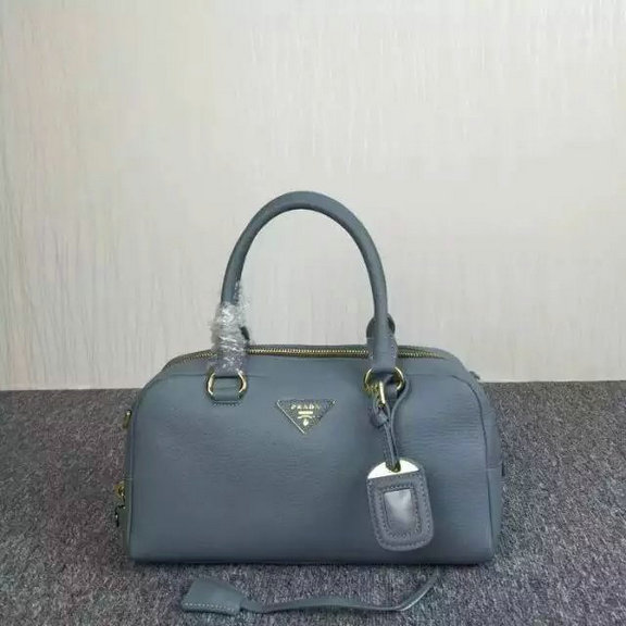 2015 Cheap Prada Grainy Calf Leather Top Handle Bag 3918