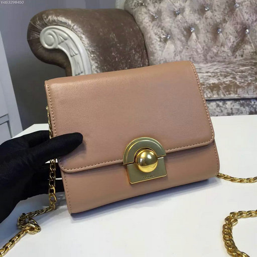 2016 A/W Prada Saffiano Leather Shoulder Bag 1BH007 in Caramel