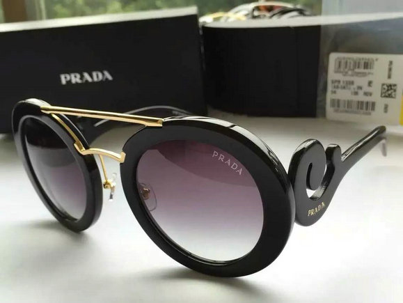 2016 Women's Prada Minimal Baroque Model Sunglasses SPR13S