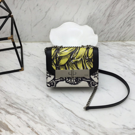 2019 Prada Severine Leather Bag in Printed Leather