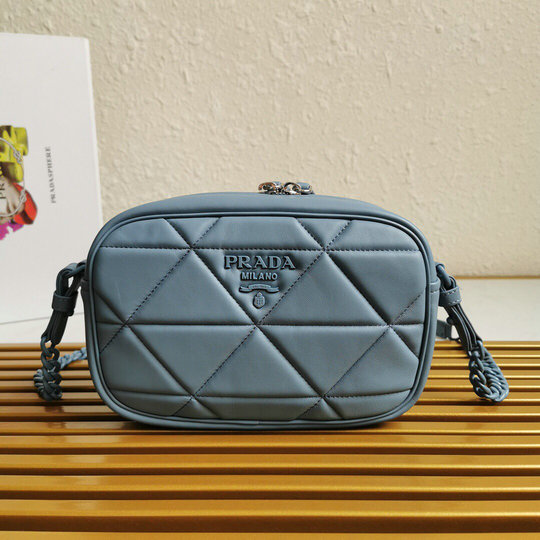 2020 Prada Spectrum Shoulder Bag in quilted nappa leather