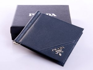 Free Gift for order amount over 450AUD-Mens Prada Saffiano Wallet 1M1077 in Royalblue