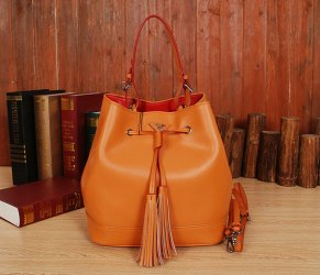 Free Gift for order amount over 700AUD-Prada Bucket Bag BR5069 in Caramel