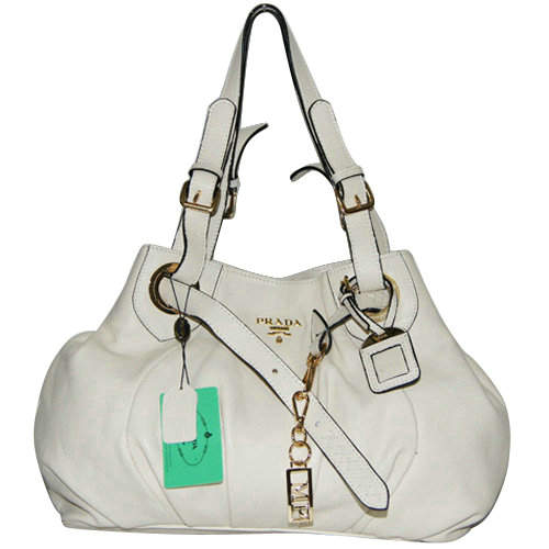 Prada Shoulder Bag in Beige