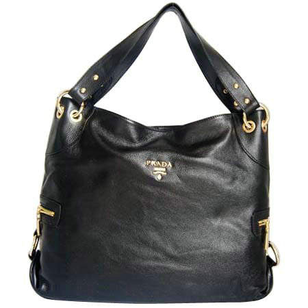 Prada Shoulder Bags in Black