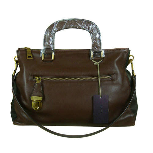 Prada Brown Top Handles