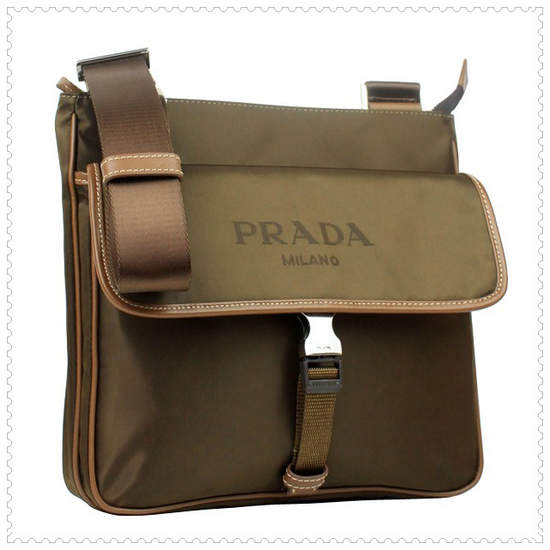 Prada Messenger Bags Australia in Dark Green