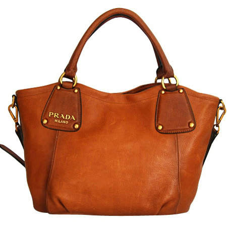 Prada Wheat Basket Shoulder Bag