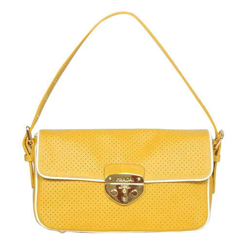 Prada Yellow Sling Bag