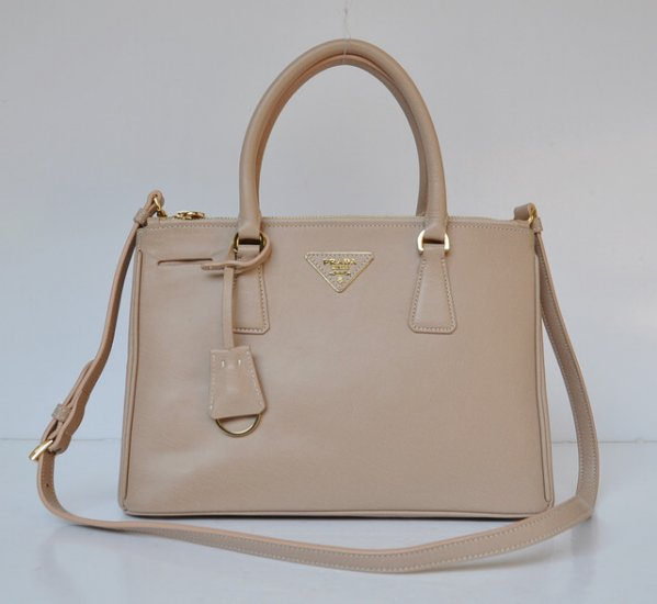 2012 Prada Small Saffiano Lux Tote Bag in Light Pink BN1801
