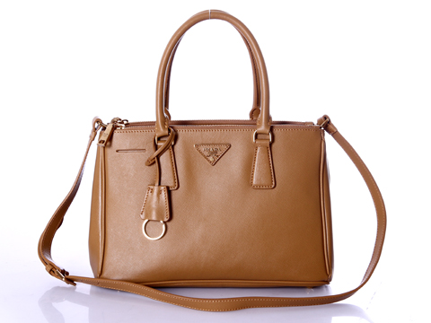 2012 Prada Small Saffiano Lux Tote Bags Browm Leather BN1801