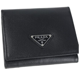 Free Gift for order amount over 450AUD-Prada Mens Wallet Black